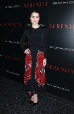 SAMI GAYLE at Serenity Screening at MOMA in New York 01/23/2019