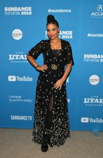 SANAA LATHAN at Native Son Premiere at Sundance Film Festival 01/25/2019