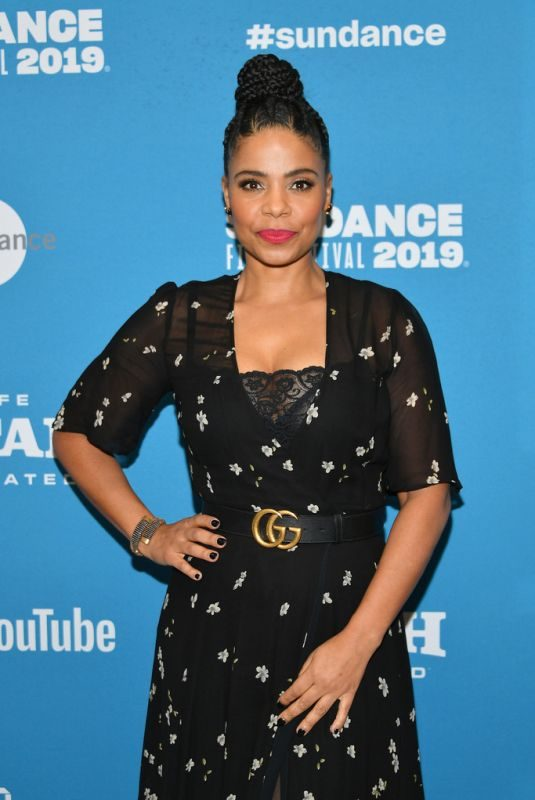 SANAA LATHAN at Native Son Premiere at Sundance Film Festival 01/25/2019