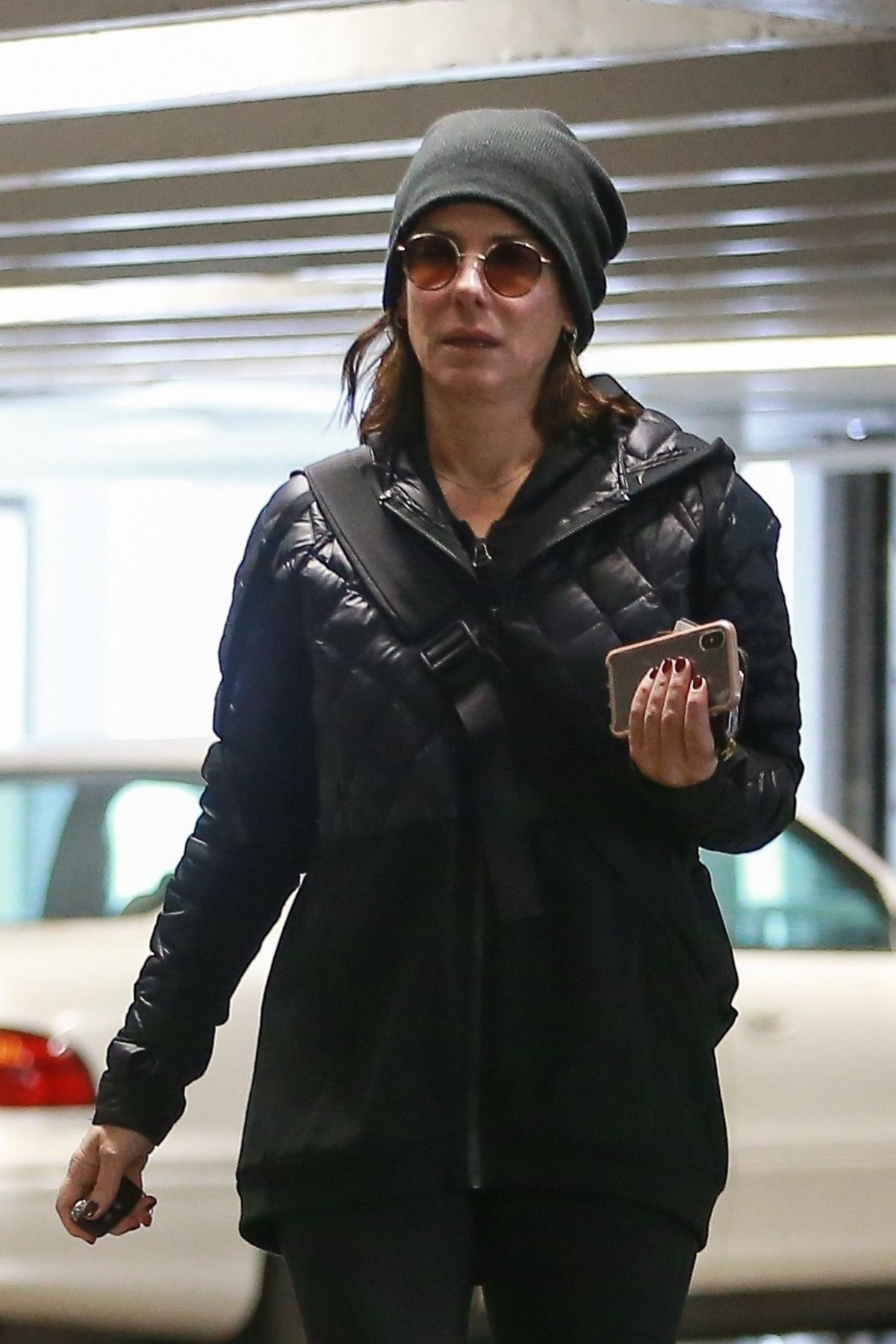 SANDRA BULLOCK Outand About in Los Angeles 01/15/2019 ...