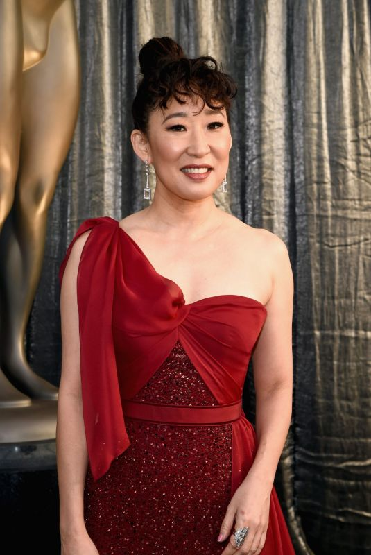 SANDRA OH at Screen Actors Guild Awards 2019 in Los Angeles 01/27/2019