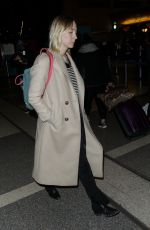 SAOIRSE RONAN at LAX Airport in Los Angeles 01/07/2019