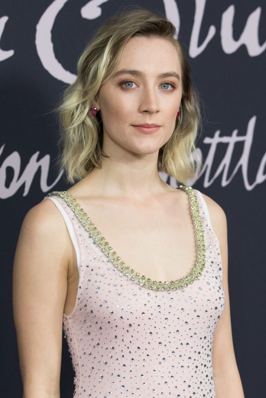 SAOIRSE RONAN at Mary Queen of Scots Photocall in Berlin 01/09/2019