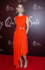 SAOIRSE RONAN at Mary Queen of Scots Premiere in Dublin 01/11/2019