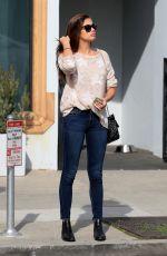 SARA SAMPAIO Leaves Urth Caffe in West Hollywood 01/29/2019