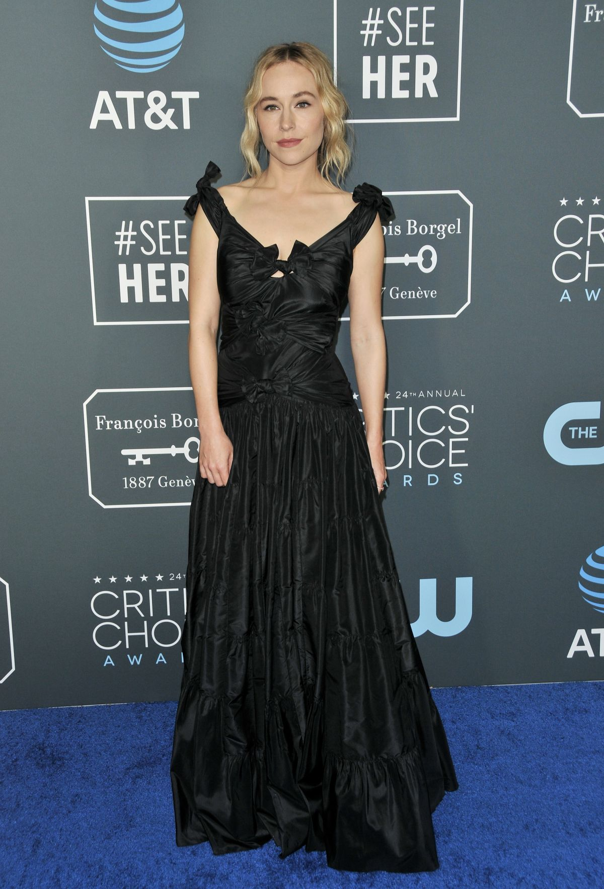 SARAH GOLDBERG at 2019 Critics' Choice Awards in Santa