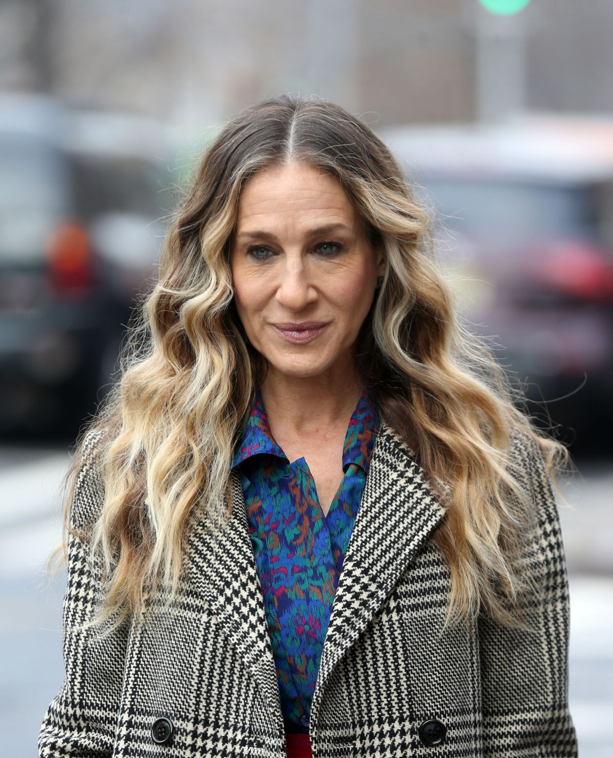 SARAH JESSICA PARKER on the Set of Divorce in New York 01 ...