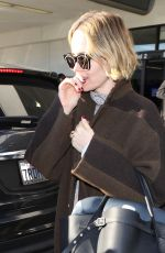 SARAH PAULSON at LAX Airport in Los Angeles 01/03/2019