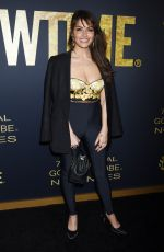 SARAH SHAHI at Showtime 2019 Golden Globes Nominees Celebration in West Hollywood 01/05/2019