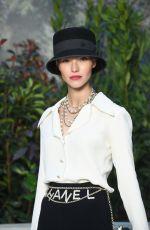 SASHA LUSS at Chanel Fashion Show in Paris 01/22/2019
