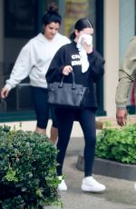 SELENA GOMEZ Heading to Pilates Class in Los Angeles 01/16/2019