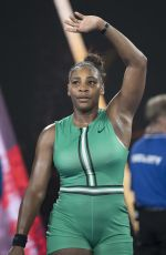 SERENA WILLIAMS at 2019 Australian Open at Melbourne Park 01/21/2019