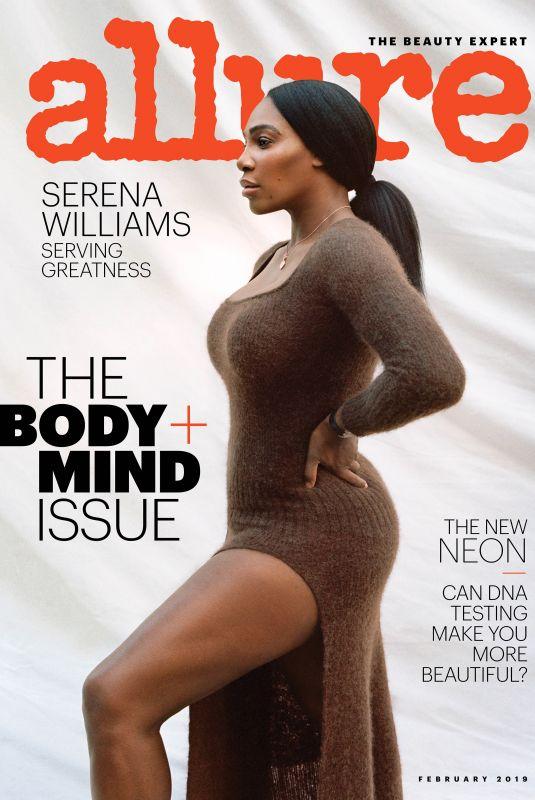SERENA WILLIAMS in Allure Magazine, January 2019 Issue