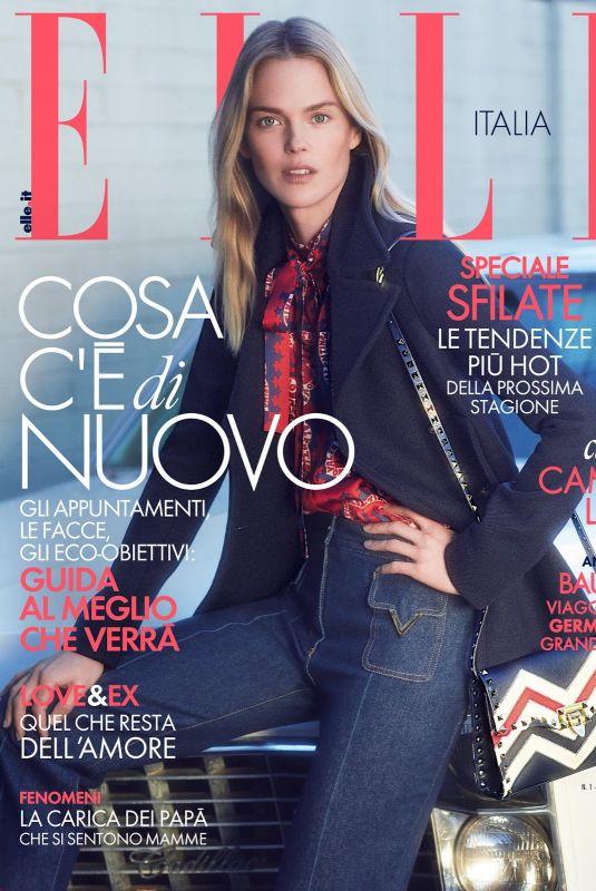 SHANNA CLICK for Elle Magazine, Italy January 2019