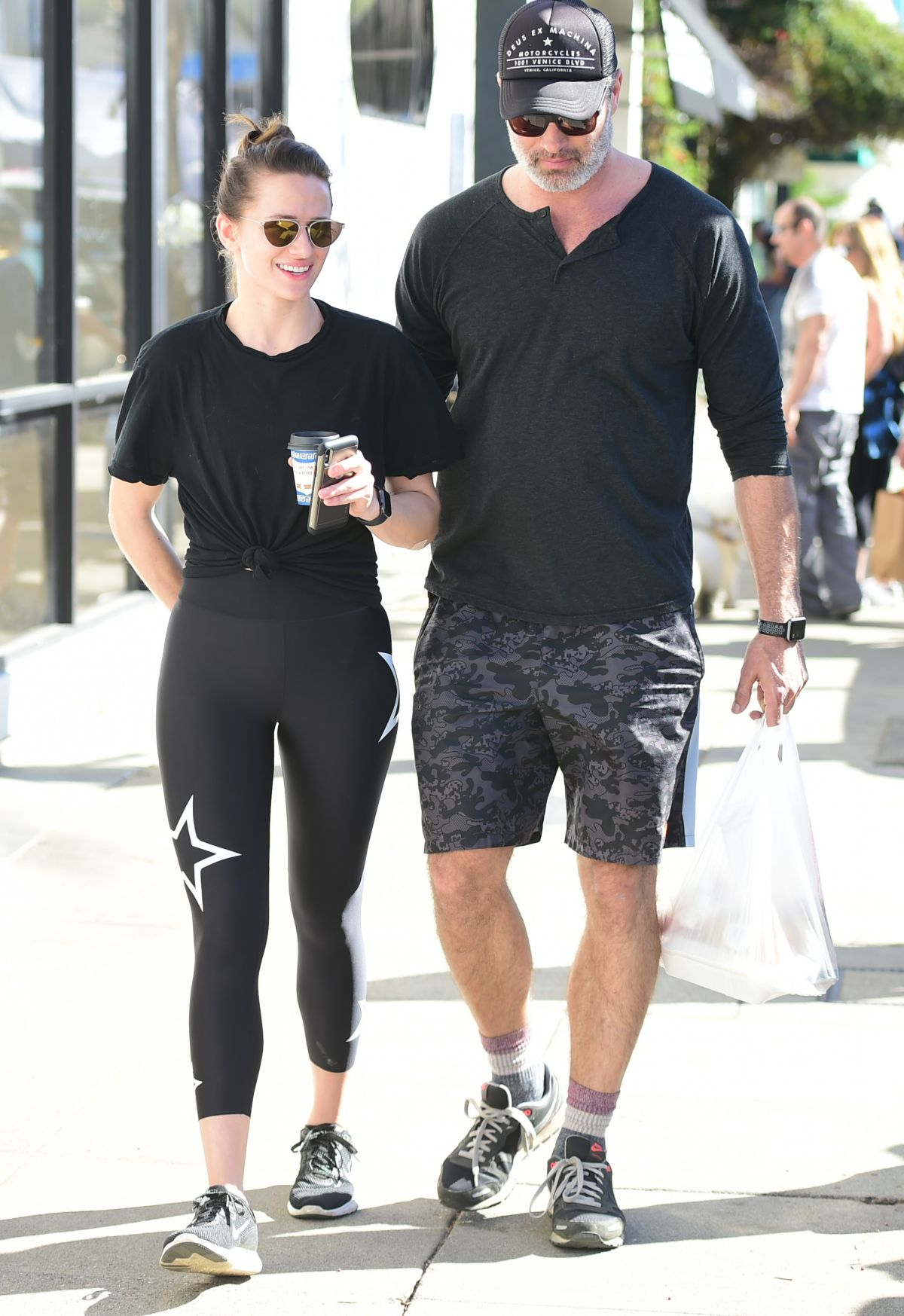 SHANTEL VANSANTEN and Victor Webster Out in Los Angeles 01