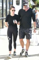 SHANTEL VANSANTEN and Victor Webster Out in Los Angeles 01/27/2019