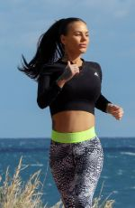 SHANTELLE CONNELLY Working Out in Marbella 01/26/2019