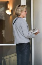 SHARON STONE Out in Los Angeles 010/18/2019