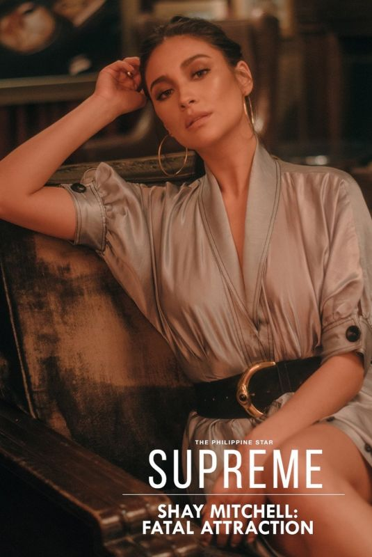 SHAY MITCHELL for Supreme, January 2019
