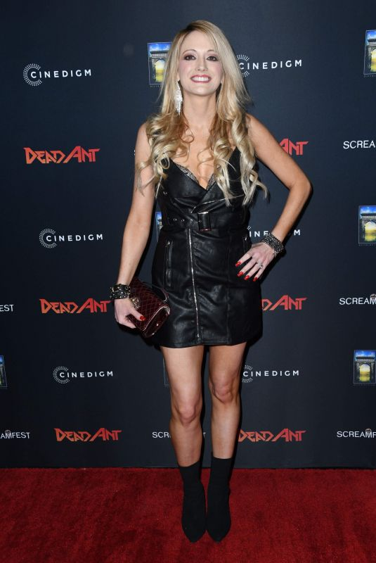 SHEVYN ROBERTS at Dead Ant Premiere in Los Angeles 01/22/2019