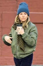 SIENNA MILLER Out and About in New York 11/15/2018