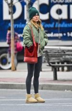 SIENNA MILLER Out in New York 01/29/2019