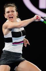 SIMONA HALEP at 2019 Australian Open at Melbourne Park 01/17/2019
