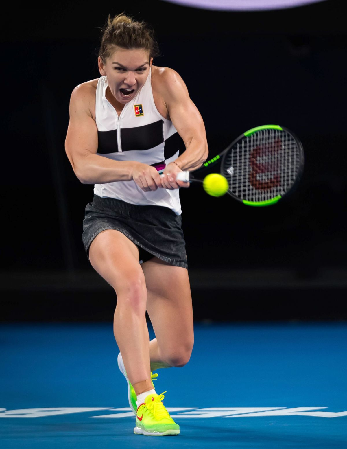 Simona Halep admits ankle pain meant sleepless night ...