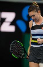 SIMONA HALEP at 2019 Australian Open at Melbourne Park 01/19/2019