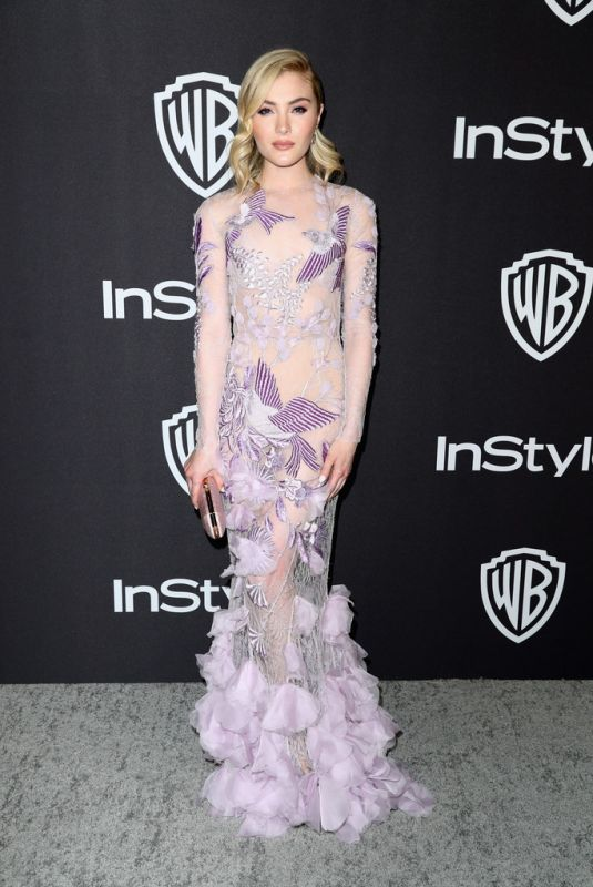 SKYLER SAMUELS at Instyle and Warner Bros Golden Globe Awards Afterparty in Beverly Hills 01/06/2019