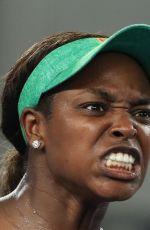SLOANE STEPHENS at 2019 Australian Open at Melbourne Park 01/18/2019