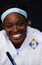 SLOANE STEPHENS at 2019 Australian Open Press Conference in Melbourne 01/16/2019