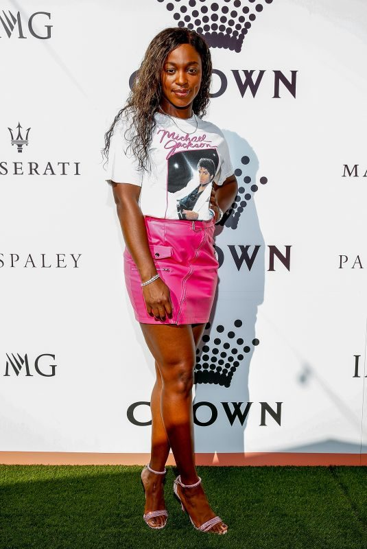 SLOANE STEPHENS at Crown Img Tennis Party in Melbourne 01/13/2019