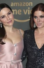 SOPHIA BUSH and DEBRA MESSING at Amazon Prime Video Golden Globe Awards After Party in Beverly Hills 01/06/2019