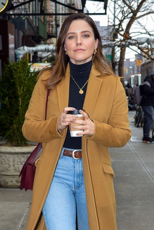 SOPHIA BUSH Out and About in New York 01/08/2019