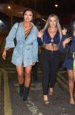 SOPHIE KASAEI, HOLLY HAGAN and ABBIE HOLBORN Night Out in Newcastle 01/25/2019