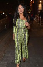 SOPHIE KASAEI Night Out in Newcastle 01/06/2019