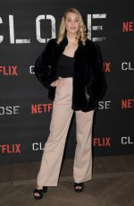 SOPHIE NELISSE at Close Special Screening in London 01/16/2019