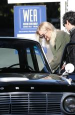 SOPHIE TURNER and Joe Jonas Out House Hunting in Los Angeles 01/23/2019