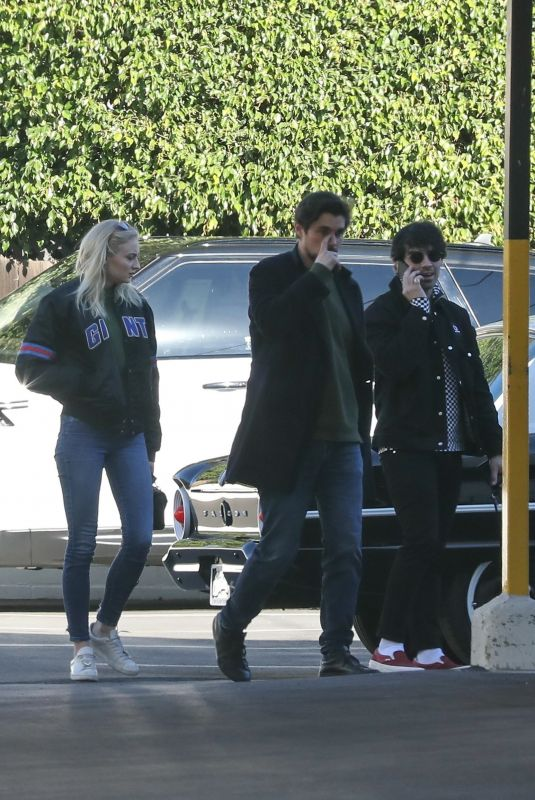 SOPHIE TURNER and Joe Jonas Out in Culver City 01/25/2019