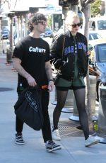 SOPHIE TURNER and Joe Jonas Shopping at Lorenzo in West Hollywood 01/25/2019