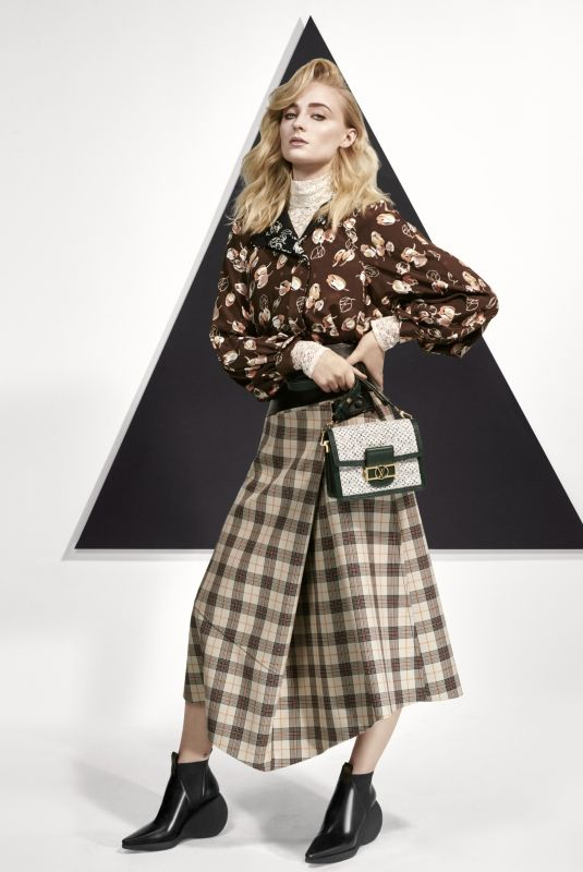 SOPHIE TURNER for Louis Vuitton, January 2019