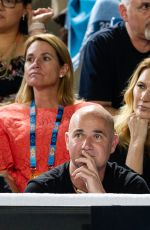 STEFFI GRAF at Grigor Dimitrov Box at 2019 Australian Open at Melbourne Park 01/16/2019