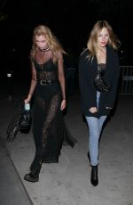 STELLA MAXWELL Night Out in Los Angeles 01/23/2019