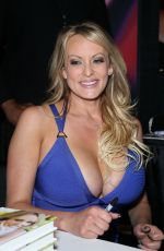 STORMY DANIELS at Book Signing at 2019 AVN Adult Entertainment Expo in Las Vegas 01/26/2019