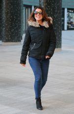 SUANNA REID at ITV Studios in London 01/14/2019