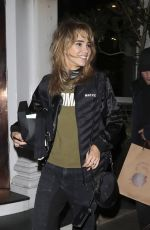SUKI WATERHOUSE Leaves Casa Cruz in London 01/11/2019