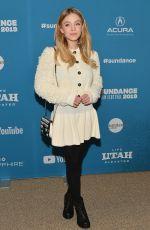 SYDNEY SWEENEY at Big Time Adolescence Premiere at Sundance Film Festival 01/28/2019