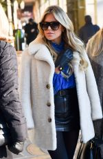 SYLVIE MEIS Out Shopping in Paris 01/21/2019