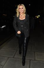 TALLIA STORM Night Out in London 01/25/2019